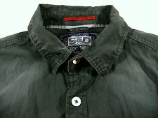 KS210 SUPERDRY stone washed jeans shirt size L, very nice condition!