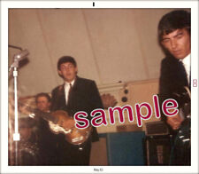 BEATLES EARLY COLOR!!! FANS SNAPSHOT PAUL & GEORGE NEW