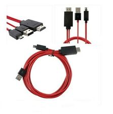 MHL Micro USB to HDMI HDTV Cable Adapter For Galaxy s3, s4 and note 2-   2 metre