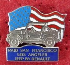 BEAU PIN'S VOITURE JEEP RENAULT RAID SAN FRANCISCO LOS ANGELES EGF DEMONS ET ...