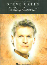 "STEVE GREEN   ""THE LETTER""  P/V/G  50% OFF COLLECTORS ITEM MUSIC BOOK"