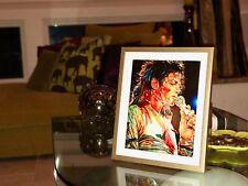 "Michael Jackson Print Art - ""Soulful"" - Collector's Item - Exclusive Portrait"