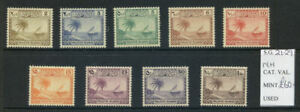 Maldive Islands 1950 Definitives complete mint unmounted to 1R (2021/02/19#05)