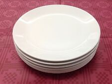 6 of Malamine Plates 20cm White Durable Camping Outdoor Price includes Delivery