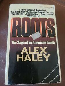 Roots Paperback Alex Haley Good Conditon Vintage Paperback