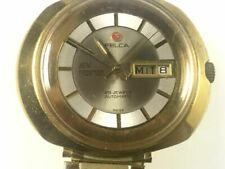 FELCA 25 JEW AUTOMATIC NEW FRONTIER WITH DATE MAN'S WATCH RUNNING GOOD