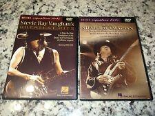 2 SRV Guitar Lesson DVDs Greg Koch Best of Greatest Hits BLUES