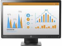 "HP 23"" ProDisplay P232 LED Blt Monitor 1920x1080 VGA Display Port FULL HD LED PC"