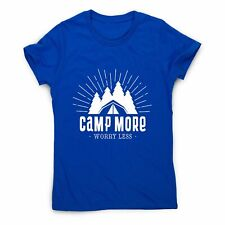 Camp more - outdoor camping women's t-shirt