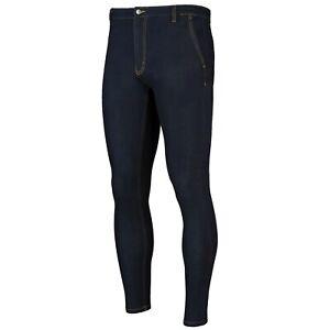 Pour Hommes Jeans Chino ,Coupe Skinny Jean,Classique Bleu,Super Tricot