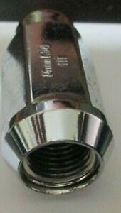 "32 Chrome Acorn Lug Nuts 14MMx1.5 For Chevy Silverado 1500 Suburban Tahoe 1.9"","