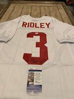 Calvin Ridley Autographed/Signed Jersey JSA COA Alabama Crimson Tide