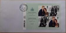 GB 2018 Commemorative very fine used Royal Wedding Miniature Sheet