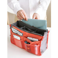 Travel Cosmetic Makeup Bag Organizer Large Storage Bags Zipper Toiletry Pouch