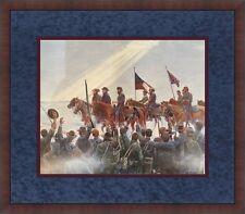 Mort Kunstler Lee's Lieutenants Civil War Print Custom Framed