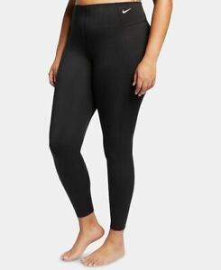 NIKE Dri-Fit Sculpt Victory high waist women's leggings -Dark Grey- 1X Plus size