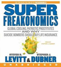 SuperFreakonomics CD: Global Cooling, Patriotic Prostitutes, and Why Suicide Bom