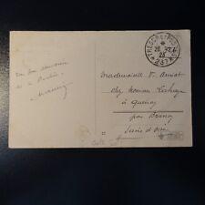 LETTRE COVER TRÉSOR ET POSTES N°237 1923 -> SEINE ET OISE