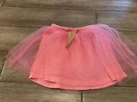 Baby Girls J.Crew Crewcuts Tulle Tutu Skirt Pink Size 3