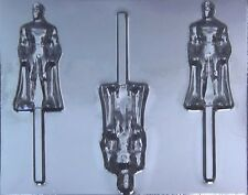 Superman Chocolate Lollipop Candy Mold #379 - NEW
