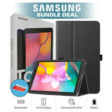 Samsung 8 Galaxy Tab A T290 32GB Tablet w/ Case & Memory...
