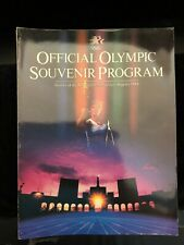 1984 Official Olympic Souvenir Program Games of the XXIII Olympiad Los Angeles