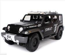 Maisto 1:18 JEEP Rescue Concept SWAT Police Diecast Model SUV Car NEW IN BOX