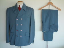 "ROCK A CHA SUIT..50's / 60's..40"" x 32""..WOOL BLEND..PEGS..DOUBLE BREASTED..ROCK"