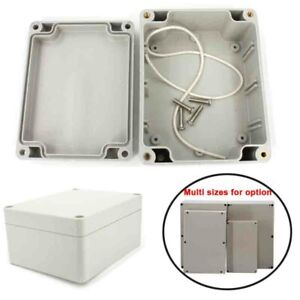 IP65 Waterproof ABS Electronic Project Enclosure Plastic Case Screw Junction Box