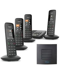 Gigaset C570A Cordless Phone 4 Handset with Long Range Extender