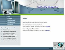 PHP Webhosting Manager Pro Script   Software   Geld Verdienen Provider Webspace