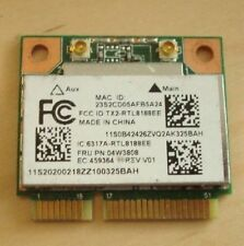 IBM Lenovo Wireless Wi-Fi Card RTL8188EE 04w3808 mini pcie half card TESTED GOOD