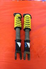 2003 MITSUBISHI EVOLUTION 8 AFTERMARKET FUNCTION LH RH REAR STRUT & SPRINGS #505