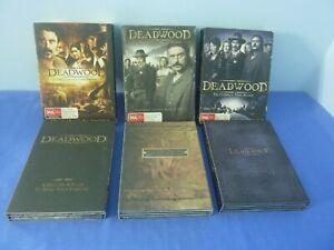 Deadwood DVD Complete Series Season 1 2 3 Ian McShane Molly Parker R4 Free Track