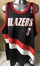 0ec2830a723 Vintage Damon Stoudamire 52 XXL Champion Portland Trail Blazers Jersey EUC