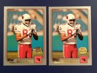 2001 Topps Collection # 62 TYWAN MITCHELL Lot 2 Gold Stamped CARDINALS RARE !