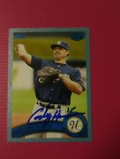 2011 Topps Pro Debut Blue #12 Cody Hawn /309 Autograph on card low #'d 💥💥