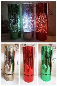 Set of 3  Firefly Table light 20cm  Decoration NEW  RED GREEN SILVER
