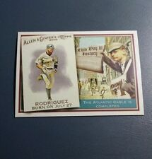 ALEX RODRIGUEZ 2010 TOPPS ALLEN & GINTER THIS DAY IN HISTORY CARD # TDH50 A9977