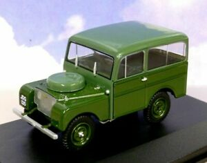 EXCELLENT OXFORD DIECAST 1/43 1949 LAND ROVER TICKFORD IN 2-TONE GREEN 43TIC001