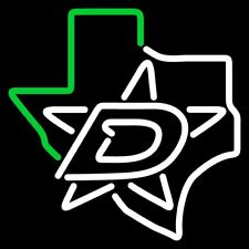 "Dallas Stars Texas Neon Lamp Sign 20""x16"" Bar Light Beer Glass Display Windows"