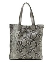 NWT $178 BANANA REPUBLIC grey snakeskin PURSE $178