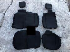 Black Neoprene Rear Seat Cover 07 - Current JK Wrangler