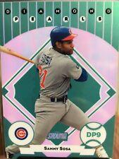 2001 Stadium Club Diamond Pearls Chicago Cubs Baseball Card #DP9 Sammy Sosa.