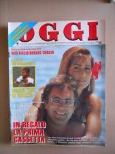OGGI n°30 1990 Albano Rimona Power Oriana Fallaci Bud Spencer Rivera [G767-1]