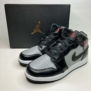 Nike Air Jordan 1 Mid GS Shadow Red New Shoes Size 6Y Women's 7.5 554725-096