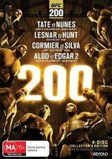 UFC #200 Collectors Edition (DVD, 2016, 4-Disc Set) Region 4