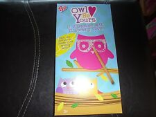 Owl Be Yours~12 Valentines With 12 Etching Tools~New In Box!