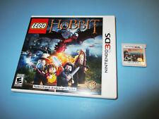 LEGO The Hobbit (Nintendo 3DS) XL Game w/Case (No Manual)