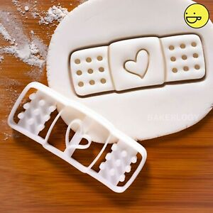 Adhesive Bandage Plaster cookie cutter | nurses day get well soon diy biscuit
